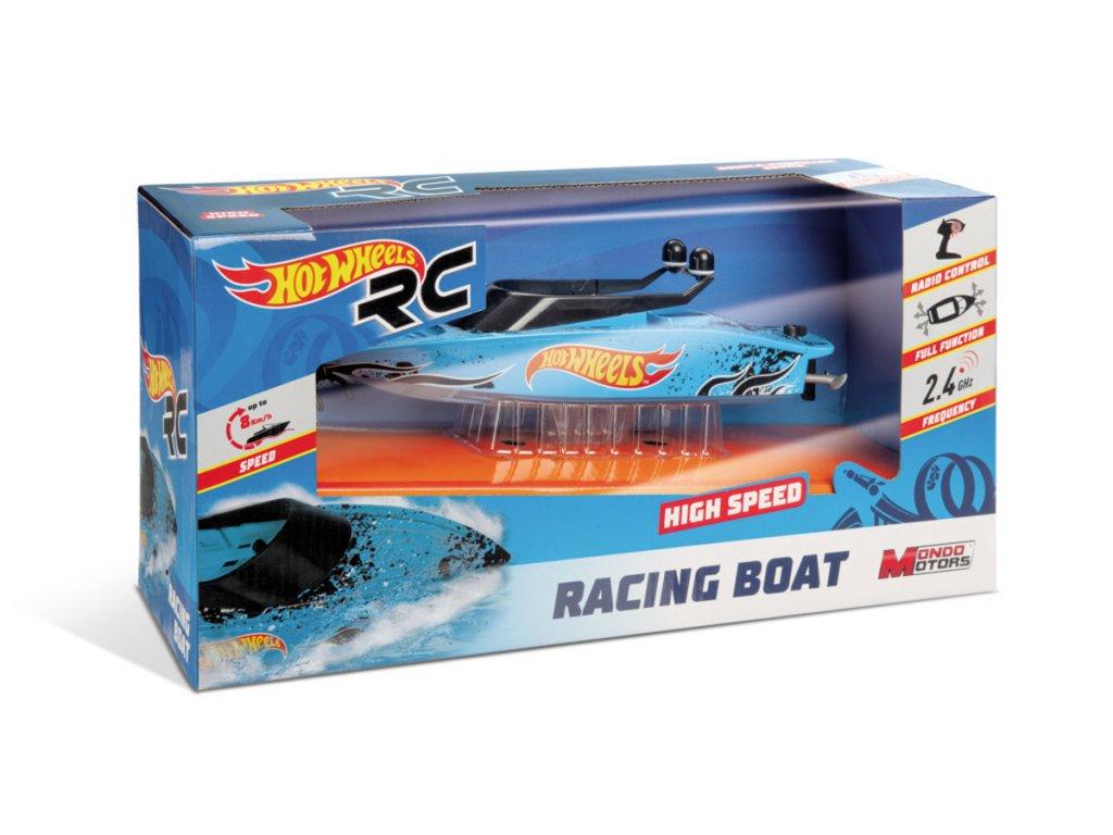 RC člun Hot Wheels