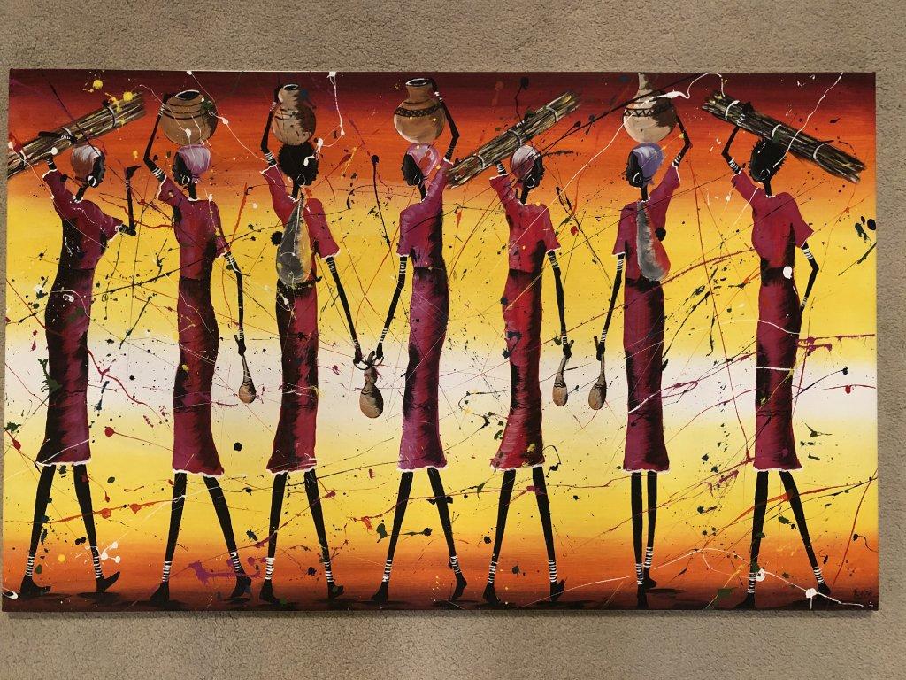 Obraz na plátně Afrika -Africké ženy
