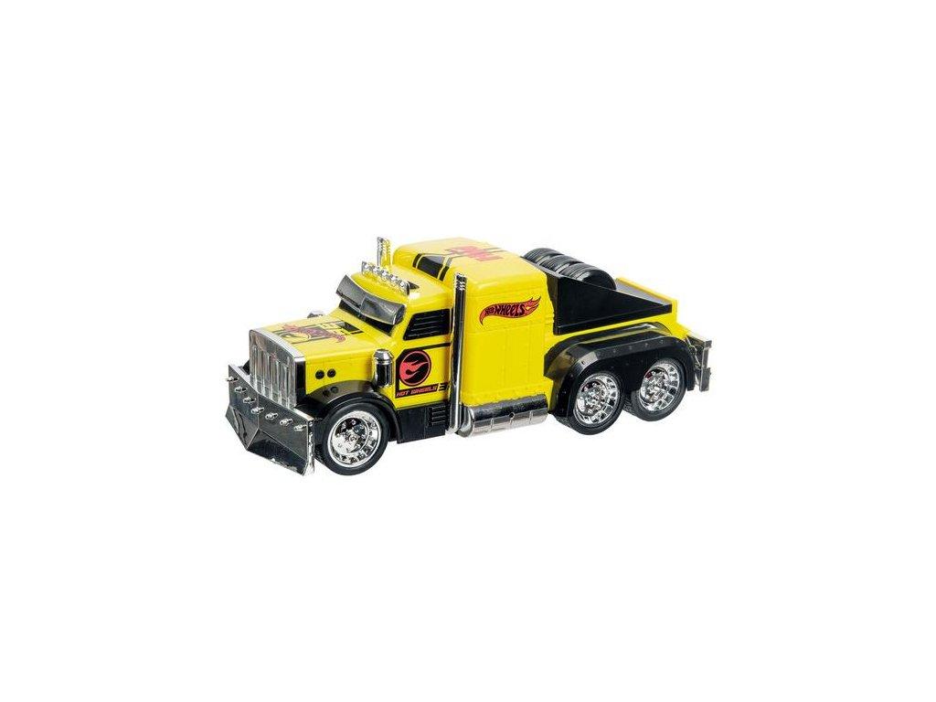 Auto natahovací -Náklaďák - žlutý