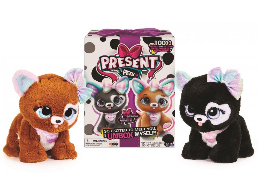 Present Pets Interaktivní štěňátka Klasik