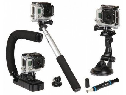 Sunpak+Action+Camera+Accessory+Kit+5+GoPro+tartozekszett+5db os