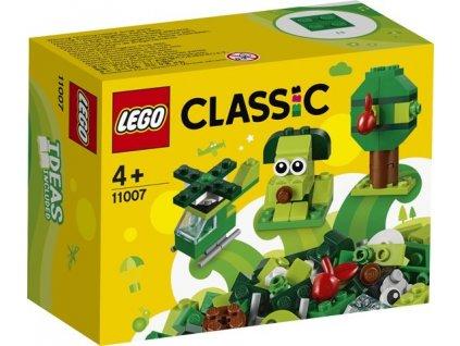LEGO Classic 11007 Zelené kreativní kostičky