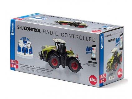 siku control 6794 bluetooth traktor claas xerion 5000 trac vc s dalkovym ovladacem 71013439 g2