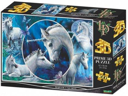 1639956573 3d puzzle kouzelne jednorozce 500 dilku