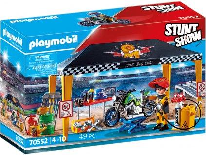 Playmobil Stunt show 70552 Kaskadérská show Servisní stan