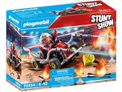 Playmobil Stunt show 70554 Kaskadérská show Požární motokára