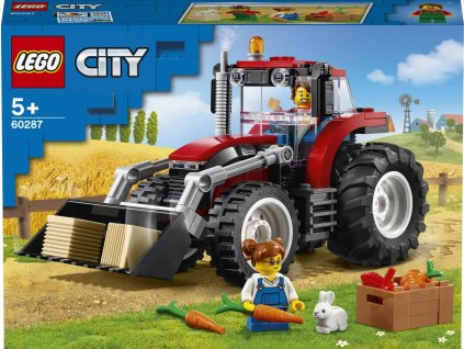 LEGO City Great Vehicles 60287 Traktor