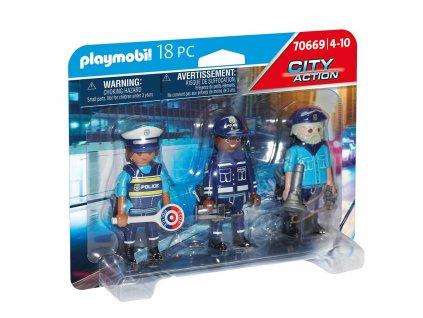 Playmobil City Action 70669 Set figurek Policie