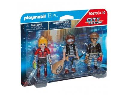 Playmobil City Action 70670 Set figurek Lupiči
