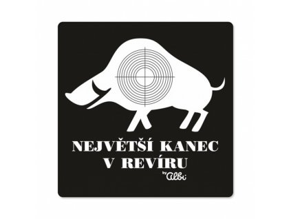 PÁNSKÉ HUMORNÉ TRIČKO - KANEC, VEL. L