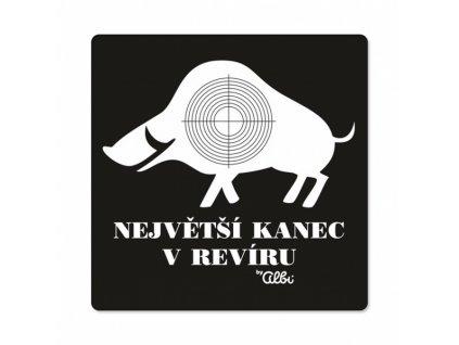 PÁNSKÉ HUMORNÉ TRIČKO - KANEC, VEL. XXL