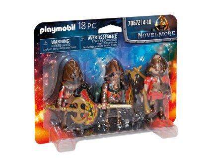 Playmobil Novelmore 70672 Trojice Burnhamských nájezdníků
