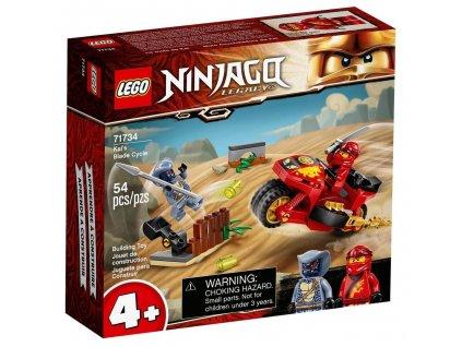 lego ninjago 71734 motocykl kaia