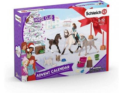 Schleich 98270 Adventní kalendář 2021 Koně