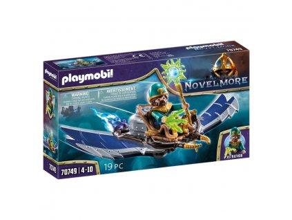 playmobil novelmore violet vale kouzelnik vzduchu 70749 a309947