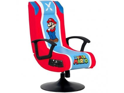 X Rocker Nintendo Mario audio herní křeslo