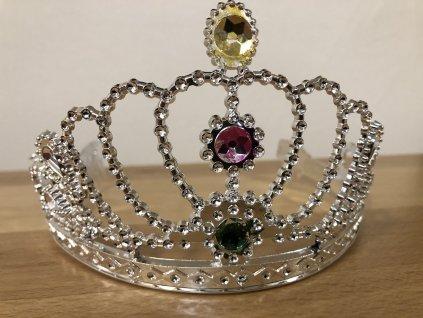 Korunka pro princeznu s kamínky