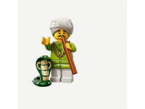 Lego Minifigurka 71008/4 13 serie krotitel hadů