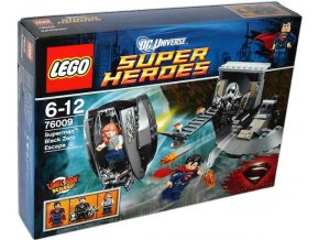 Lego Super Heroes Superman™: Únik z Black Zero - 76009