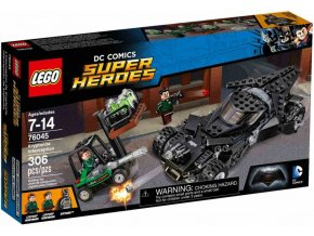 LEGO Super Heroes 76045 Krádež kryptonitu