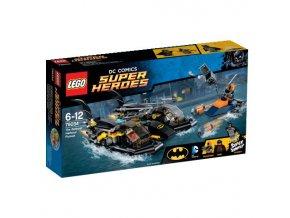 LEGO 76034 Super Heroes  Honička v přístavu s Batmanovým vznášedlem