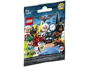 LEGO minifigurka 71020 - postavička č.  17 - panáček s novinami