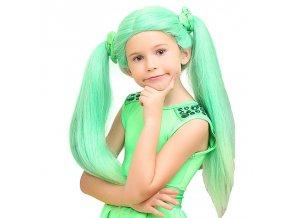 paruka zelená