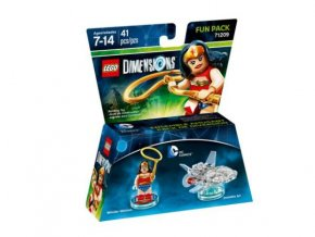 Lego 71209 Dimensions Fun Pack - DC Comics Wonder Woman and Invisible Jet
