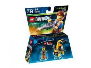 Lego 71212 Dimensions Fun Pack - The LEGO Movie Emmet and Emmet's Excavator
