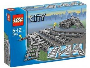 Lego City Vlak Koleje Výhybky - 7895
