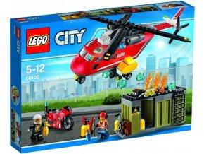 LEGO City Fire 60108 Hasičská zásahová jednotka