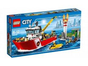 City Fire 60109 Hasičský člun