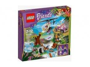 Lego Friends 41036 Záchrana na mostě v džungli