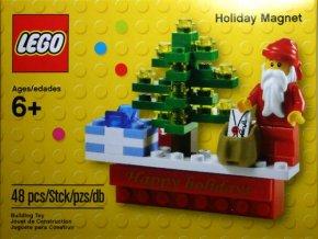 LEGO Creator 853353 Vánoční magnet na ledničku
