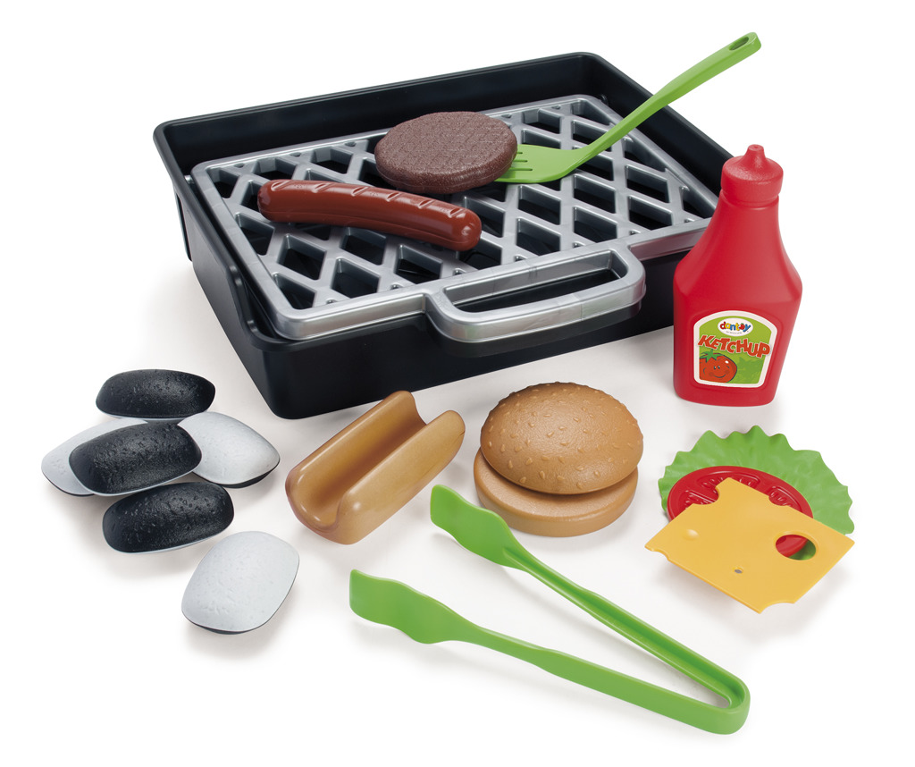 All4toys Gril set hamburger + hot dog