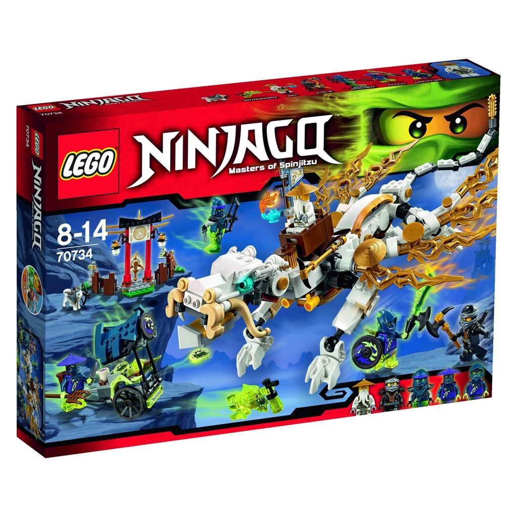 All4toys LEGO 70734 NINJAGO Drak Mistra Wu