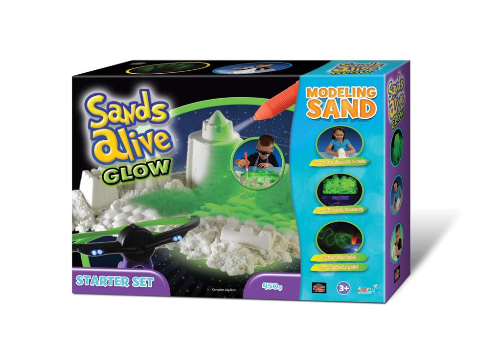 All4toys Sands Alive! Glow - Startovací balení