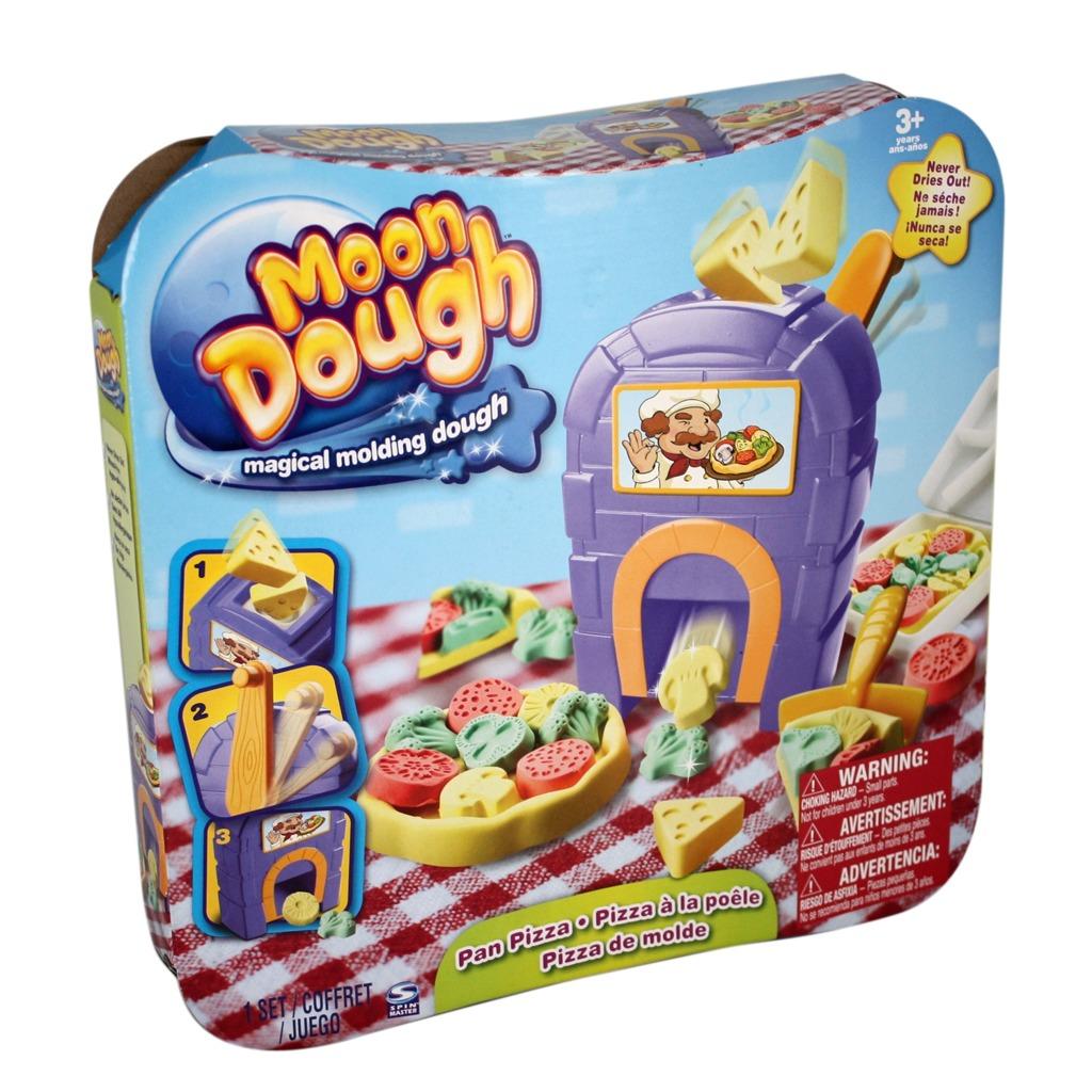All4toys Moon Dough sada (pizza, zmrzlinářský vozík, pokladna)