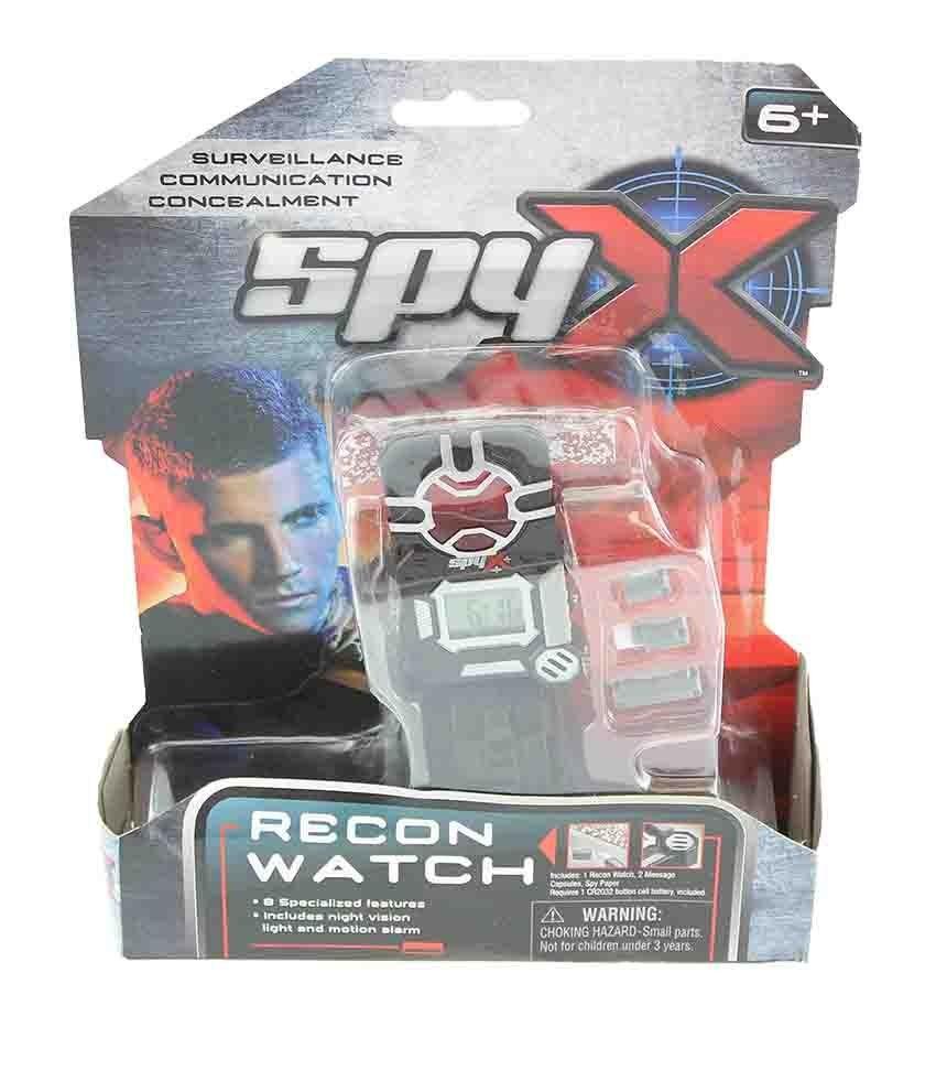All4toys SpyX Špiónské hodinky