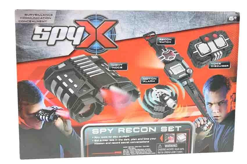 All4toys SpyX Velký špiónský set s dalekohledem