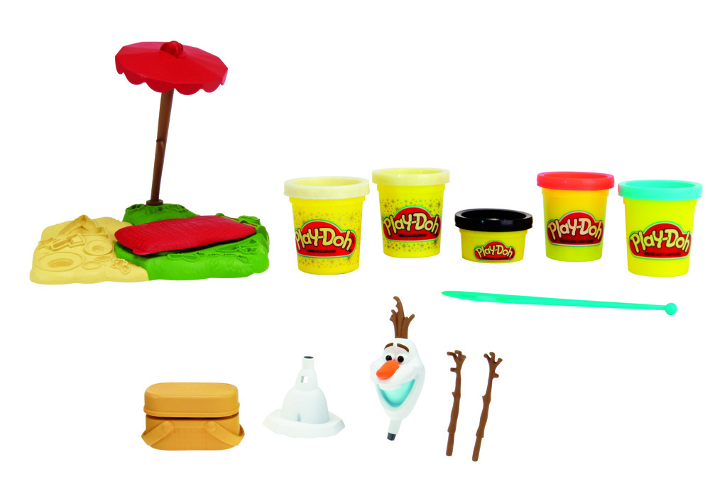 All4toys Play-Doh Frozen Olaf na pláži