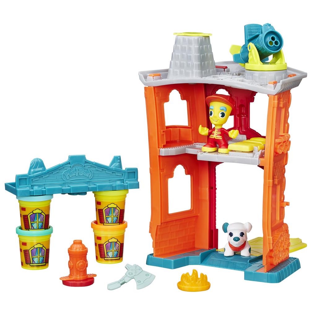 All4toys Play-Doh town požární stanice