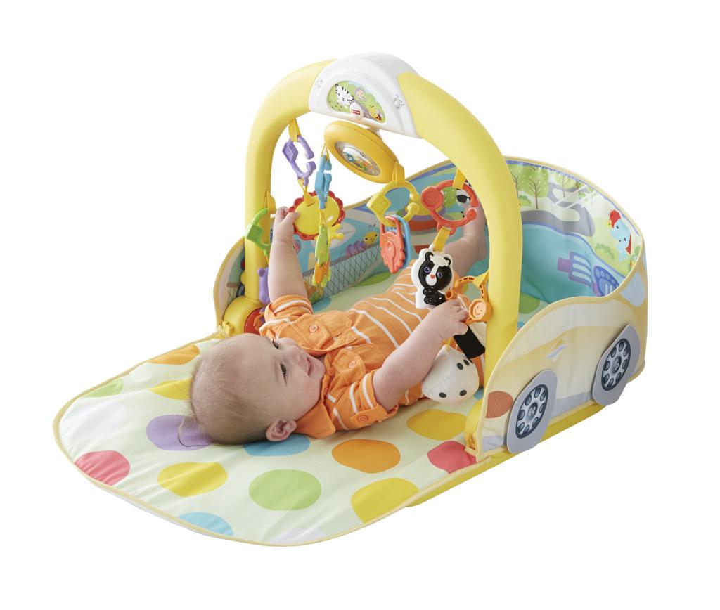 All4toys Fisher Price hrací dečka autíčko 3 v1