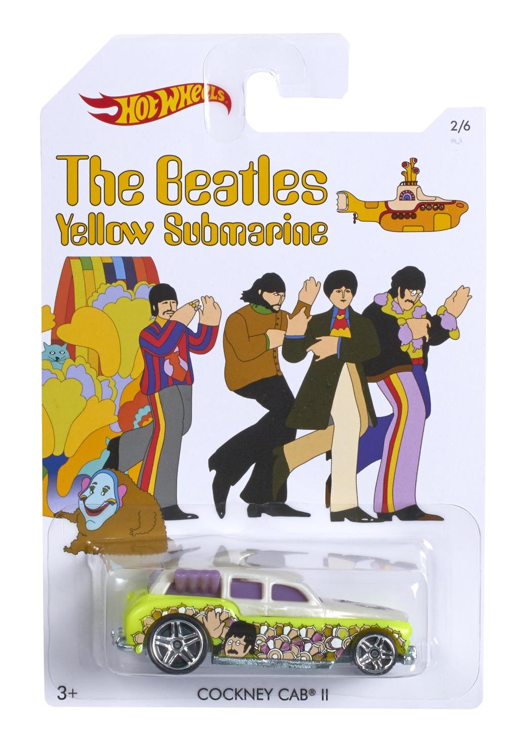 All4toys Hot Wheels angličák the Beatles