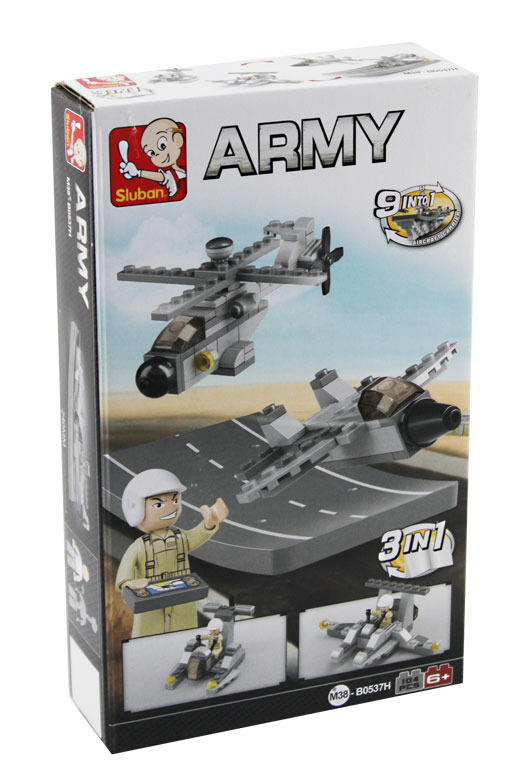 All4toys Stavebnice 3v1 - Unmanned vehicle