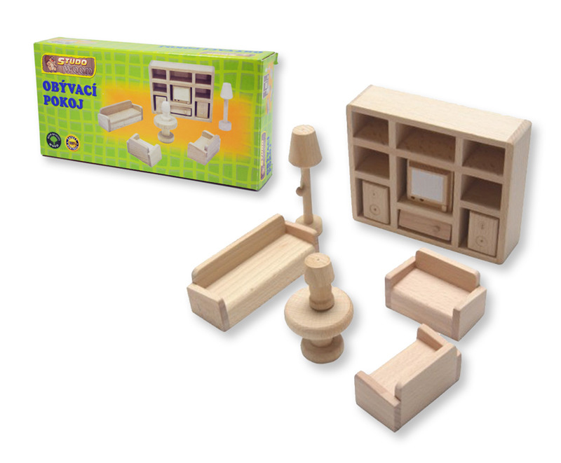All4toys Mini nábytek - obývací pokoj