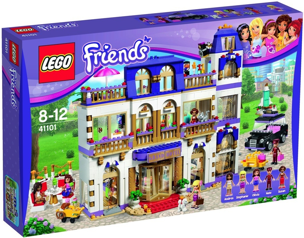 LEGO Friends - Hotel Grand v městečku Heartlake 41101