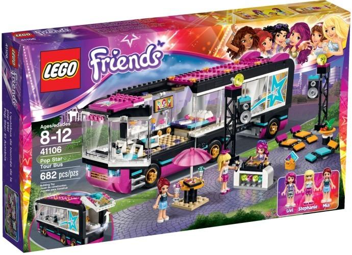 LEGO 41106 FRIENDS Autobus pro turné popových hvězd