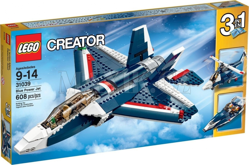 LEGO CREATOR 31039 Stíhačka Blue Power 3v1