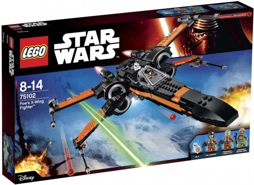 All4toys LEGO Star Wars 75102 Poe's X-Wing Fighter